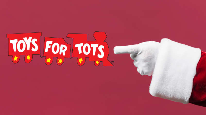 Toys for tots promo omage